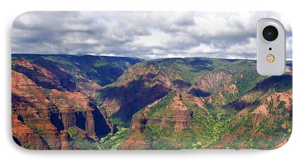 IPhone Case featuring the photograph Waimea Canyon by Amy McDaniel