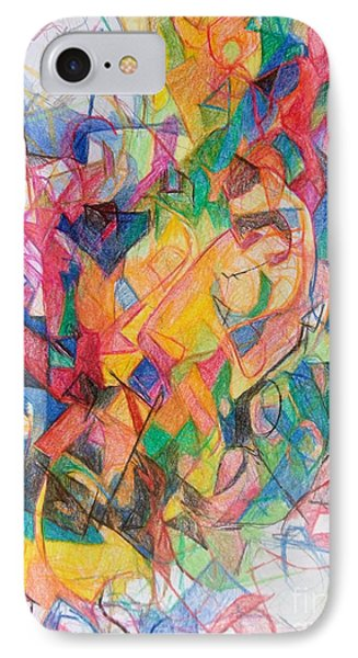 Waiting According To Intuition 1 IPhone Case by David Baruch Wolk