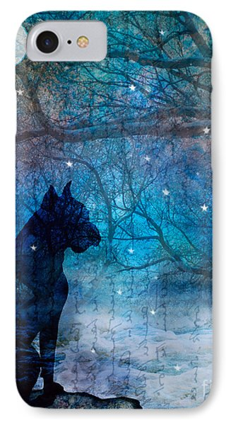 Waiting By The Night River Phone Case by Judy Wood