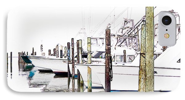 Waiting For Food - Outer Banks Phone Case by Dan Carmichael