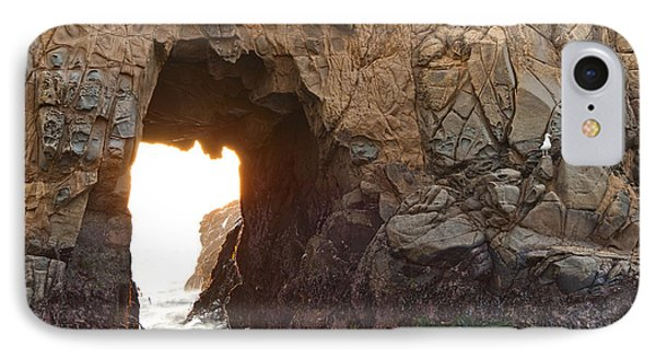 Waiting For Godot - Arch Rock In Pfeiffer Beach In Big Sur. Phone Case by Jamie Pham