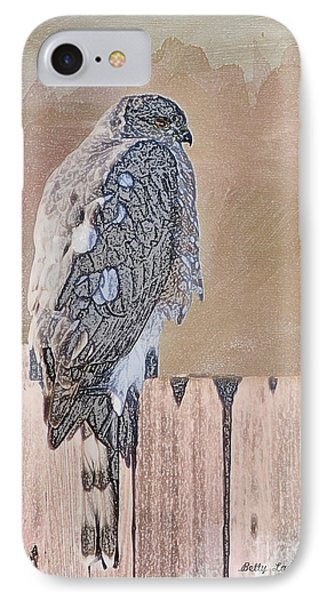 Waiting For Mr. Goodbird IPhone Case by Betty LaRue