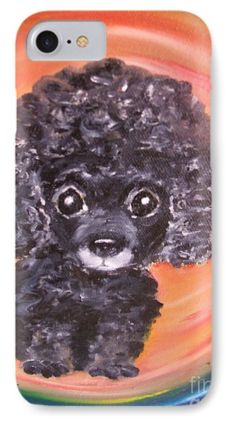 Waiting For My My Forever Home. IPhone Case by Rachel Carmichael