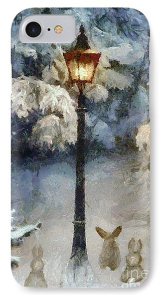 Waiting For Santa 2 IPhone Case by Dragica  Micki Fortuna