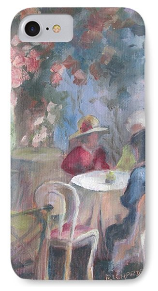 Waiting For Tea Phone Case by Susan Richardson
