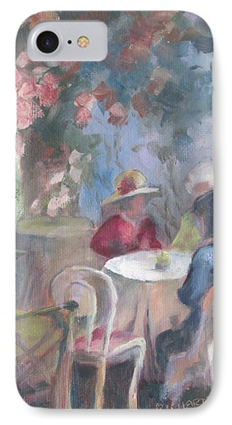Waiting For Tea IPhone Case by Susan Richardson