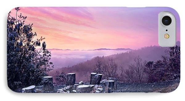 Waiting By The Fire IPhone Case by Maria Robinson