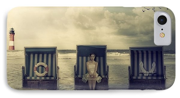 Waiting For The Flood Phone Case by Joana Kruse