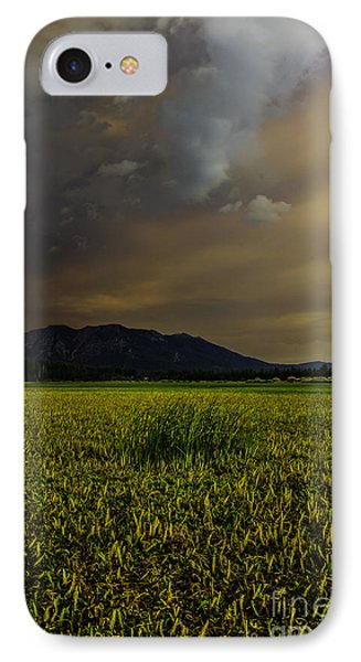 Waiting For The Rain To Come IPhone Case by Mitch Shindelbower