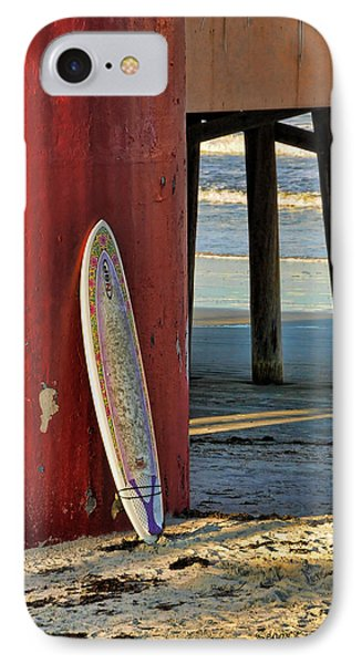 Waiting IPhone Case by Kenny Francis