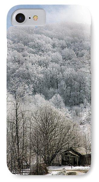 Waiting Out Winter Phone Case by John Haldane