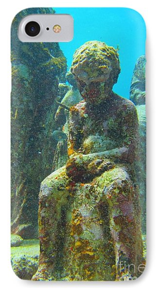 Waiting Patiently For The Coral To Grow Up Phone Case by Halifax photographer John Malone