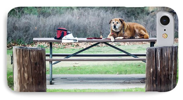 Waiting Patiently IPhone Case by Photographic Art by Russel Ray Photos
