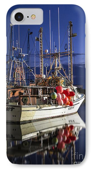 IPhone Case featuring the photograph Waiting To Fish by Terry Rowe