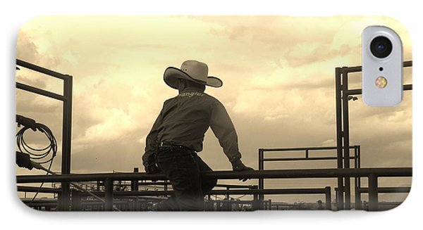 Waiting To Ride IPhone Case by Feva  Fotos