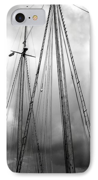 IPhone Case featuring the photograph Waiting To Sail by Ellen Tully