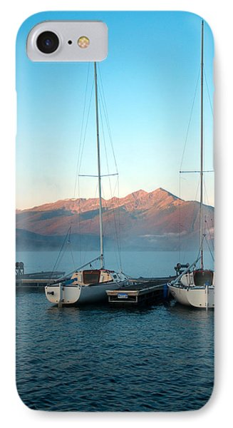 Waiting To Sail  IPhone Case by Eric Rundle