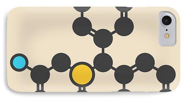 Wakefulness Promoting Drug Molecule IPhone Case