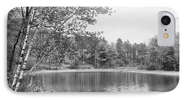 Walden Pond, C1905 IPhone Case by Granger