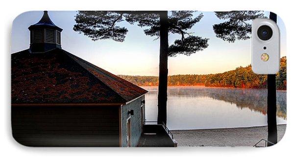 Walden Pond  IPhone Case by Denis Tangney Jr