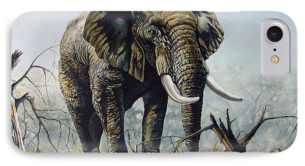 IPhone Case featuring the painting Walk About by Anthony Mwangi