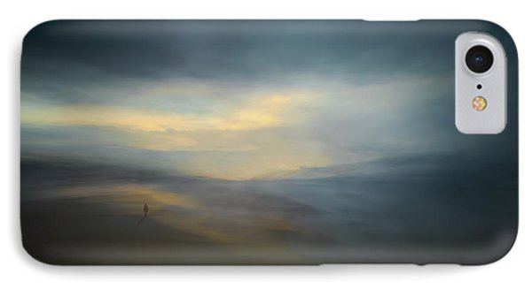 Walk Along The Edge Of Nowhere IPhone Case