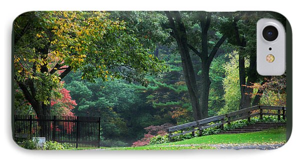 Walk In The Park Phone Case by Christina Rollo