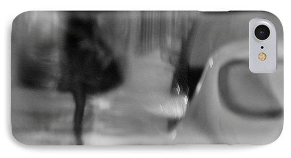 Walk In The Rain IPhone Case by JoAnn Lense