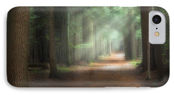 Walk In The Woods IPhone Case by Bill Wakeley