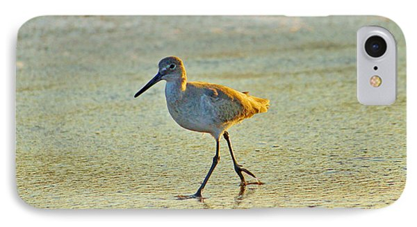 IPhone Case featuring the photograph Walk On The Beach by Cynthia Guinn