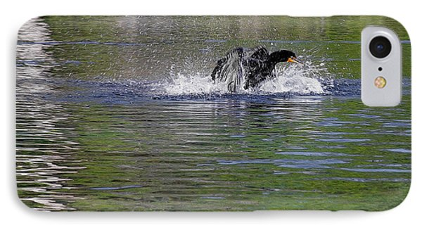 Walk On Water - The Anhinga IPhone Case
