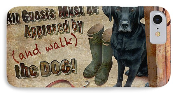 Walk The Dog Phone Case by JQ Licensing