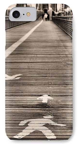 Walk This Way Phone Case by JC Findley