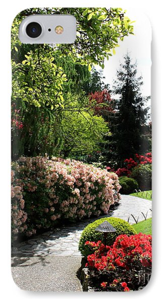 Walk Through Spring Garden IPhone Case