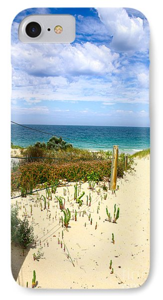 IPhone Case featuring the photograph Walk To The Beach by Serene Maisey