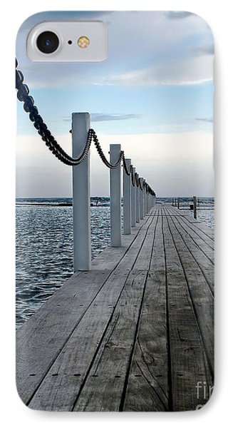 Walk To The Ocean Phone Case by Kaye Menner