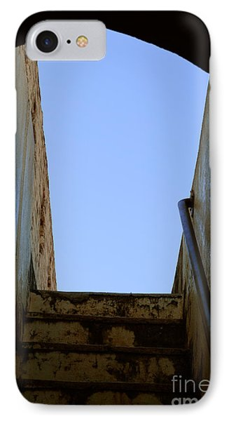 Walk To The Sky IPhone Case by Kiran Joshi