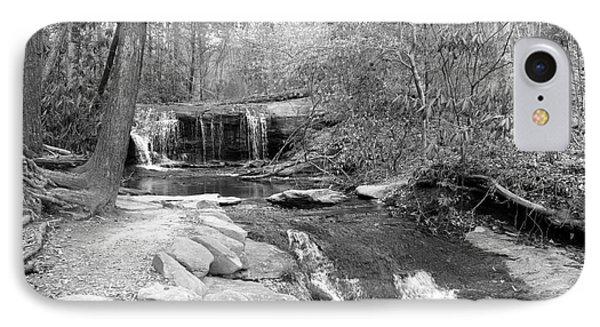 Walk To The Waterfall Phone Case by Carol Groenen