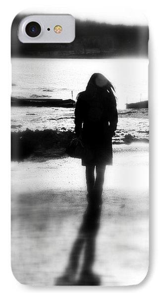Walking Alone IPhone Case