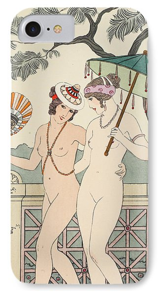 Walking Around Naked As Much As We Can IPhone Case