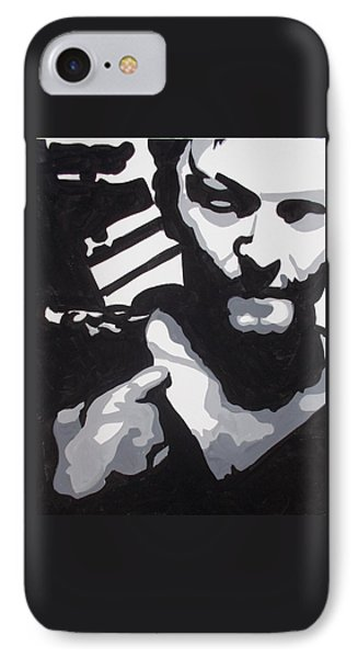 Walking Dead Daryl Close IPhone Case by Marisela Mungia