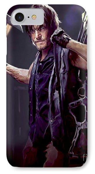 Walking Dead - Daryl Dixon IPhone 7 Case