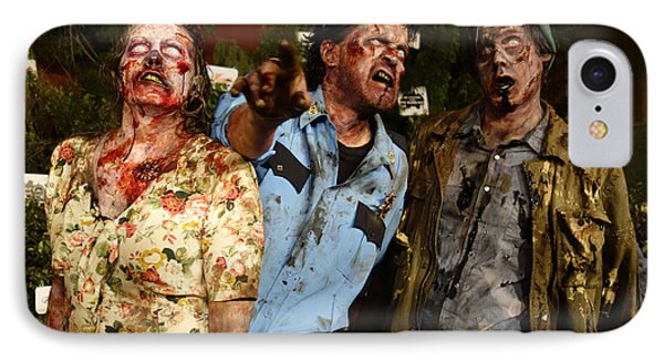 Walking Dead IPhone Case by Nina Prommer