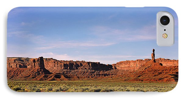 Walking In The Valley Of The Gods Phone Case by Christine Till