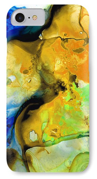 Walking On Sunshine - Abstract Painting By Sharon Cummings IPhone Case by Sharon Cummings