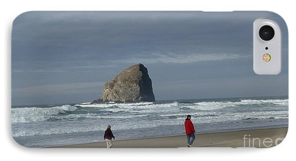 IPhone Case featuring the photograph Walking On The Beach by Susan Garren