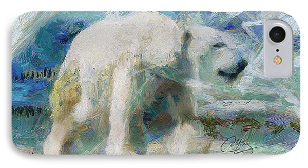 Cold As Ice IPhone Case by Greg Collins