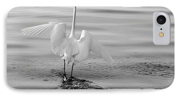 IPhone Case featuring the photograph Walking On Water by Daniel Woodrum