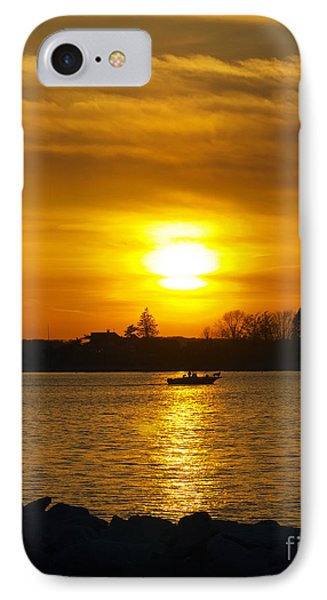 Walking The Dog Phone Case by Joe Geraci