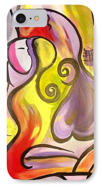Abstract Twist IPhone Case